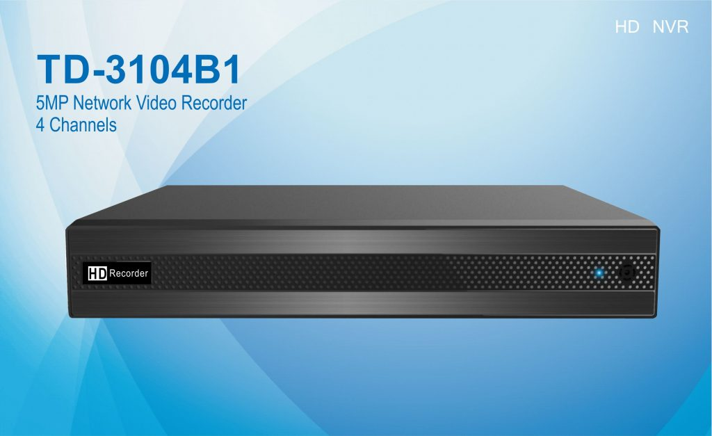 TD-3104B1 5MP 4 channels HD NVR