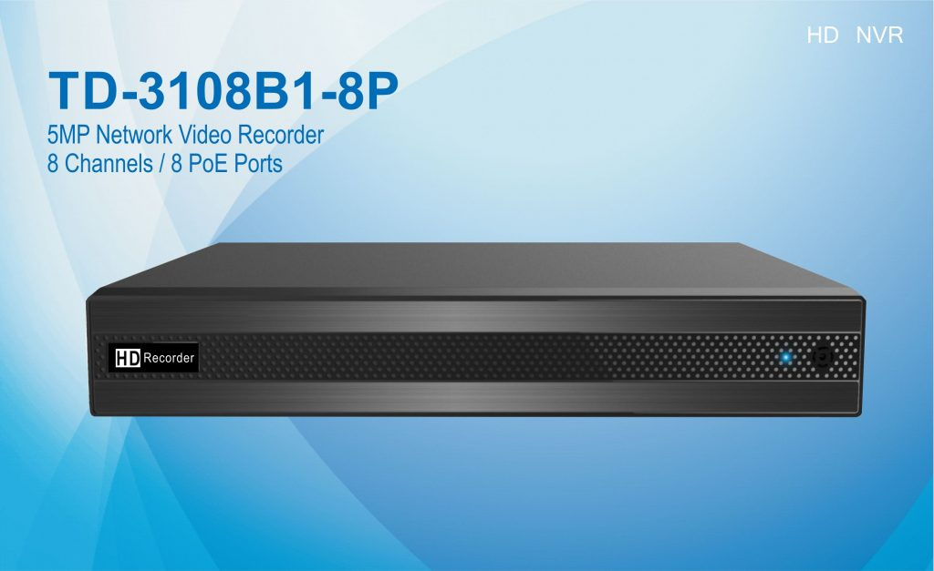 TD-3108B1-8P 8 channels HD POE NVR